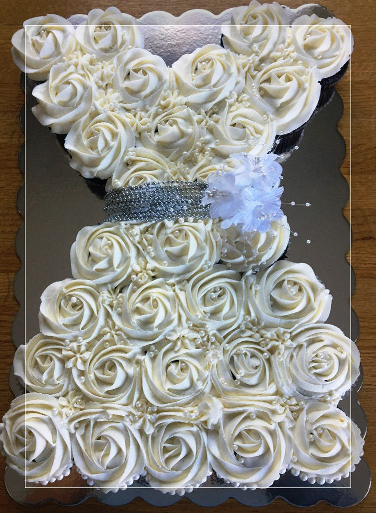 Wedding Cake How To Make A Cupcake Wedding Dress Cupcake Wedding Dress For Bridal Shower Cupcake St Bridal Shower Cupcakes Wedding Dress Cupcakes Cake Bridal