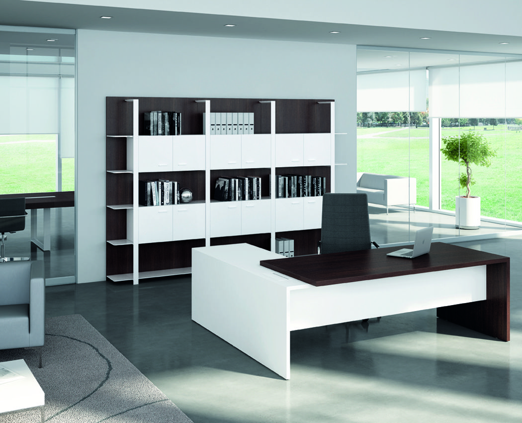 Executive office desks dcagencies ideas para la for Quadrifoglio arredo ufficio