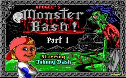 Monster Bash DOS