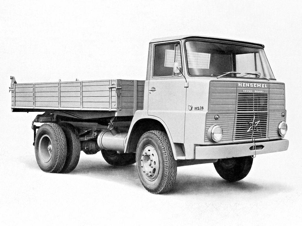 1962 67 Henschel Hs 14 Hk Lkw Trucks