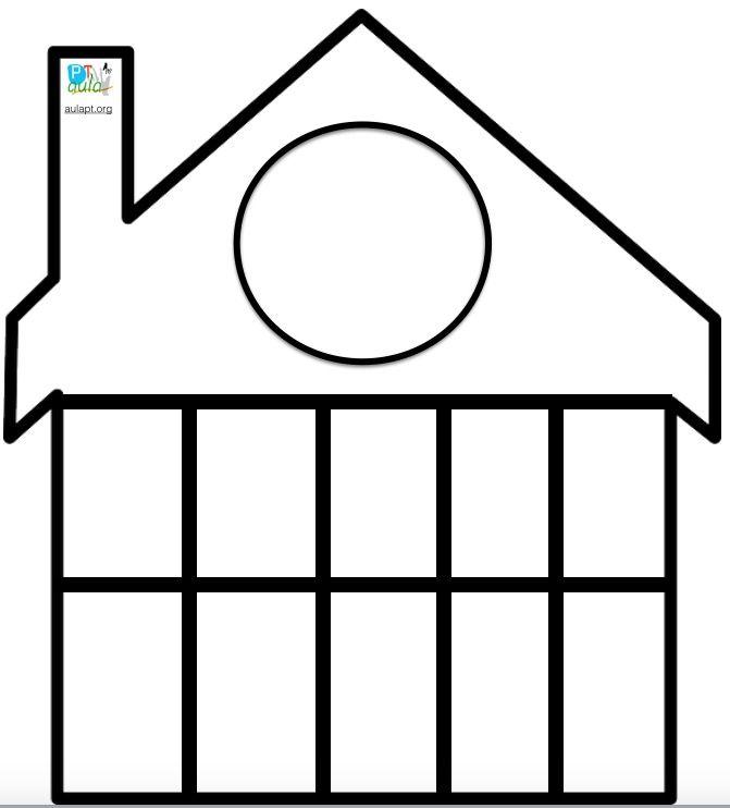 plantilla casita de decenas | Primer grado | Pinterest | Mathe ...