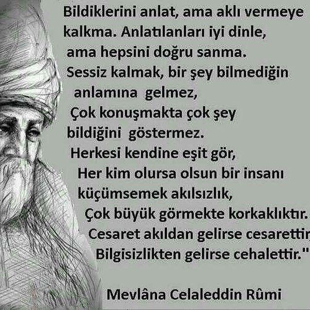Fulden Uras Fuldenuras Websta Lifetime Quotes Rumi Quotes Cool Words