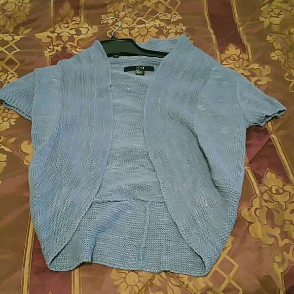 Blue sweater Short sleeve xxi Sweaters