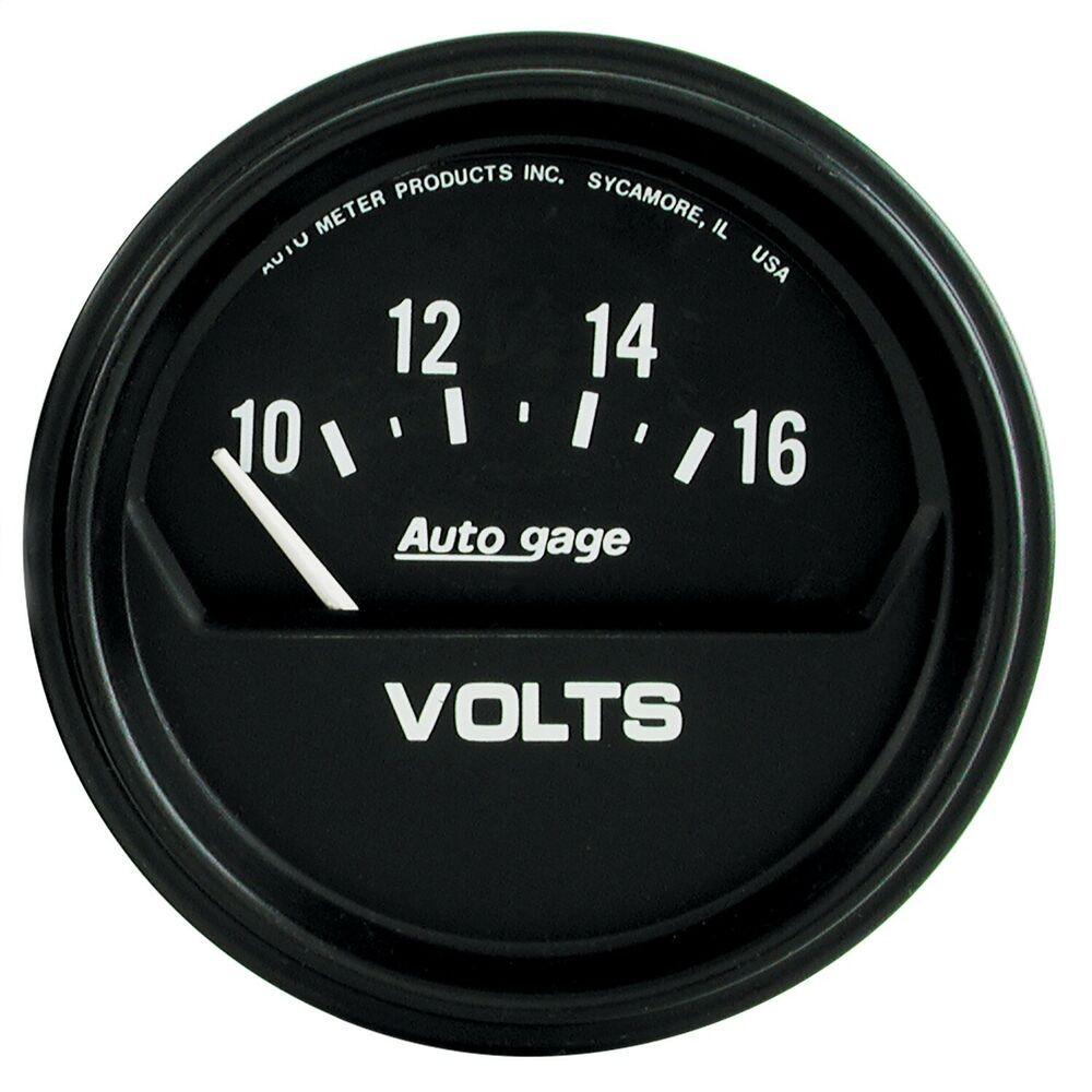 Sponsored Ebay Autometer 2319 Autogage Electric Voltmeter Gauge Gauges Electricity Premium Cars