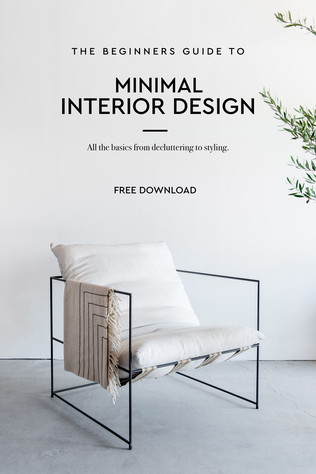 Freebie free download minimal home decor guide interior design decoration minimalism ebook freeinteriordesign also rh pinterest