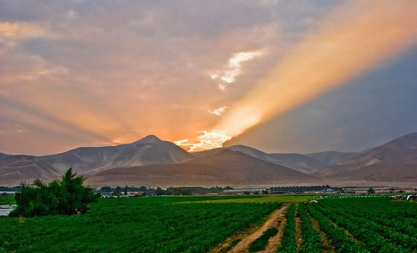 The beautiful land of Israel by Valery Kairon
