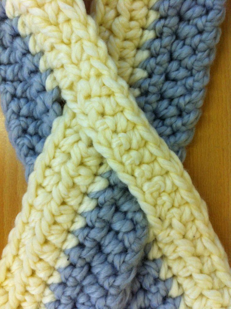 Crochet Keyhole Scarf Pattern Crochetknit Pinterest Crochet