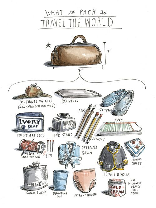 how to pack small items