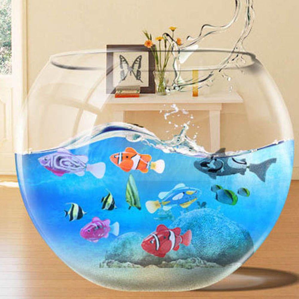 ltima robtico activado con pilas robo robofish peces de juguete peces pecera acuario ornamentos