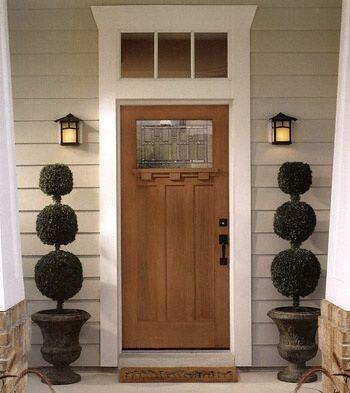 Masonite Belleville Craftsman Door Doors Pinterest
