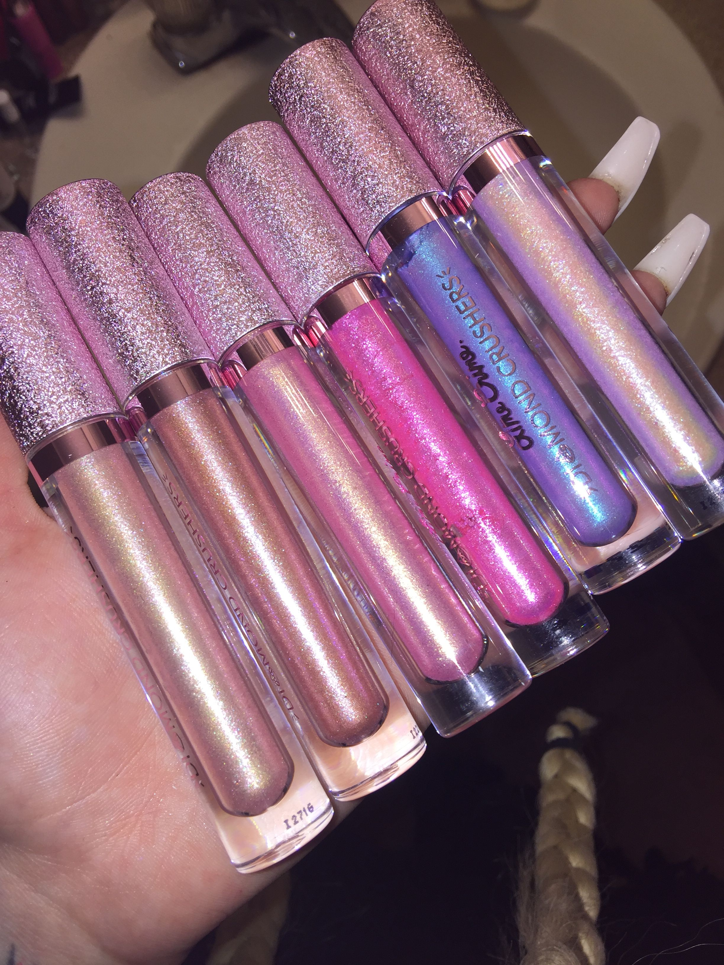 Smitten with these new Lime Crime diamond crushers