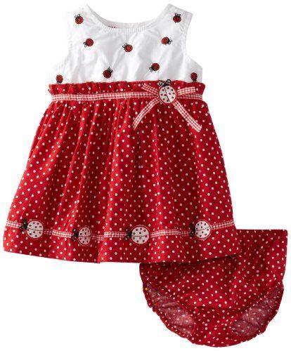 645669088 Blueberi Boulevard Baby-girls Newborn Pindot Ladybug Sund... https ...