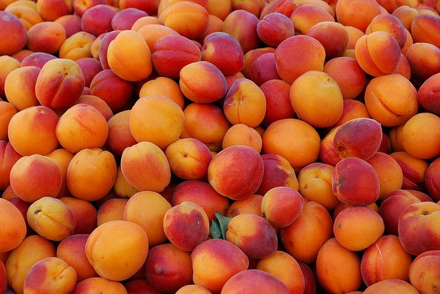 peaches ~ I bought a box at Costco today - so many yummy things to