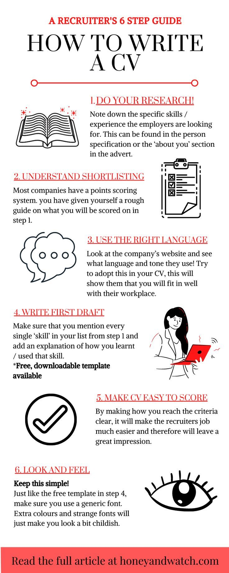 How To Write A CV in 2020 Writing a cv, Resume examples