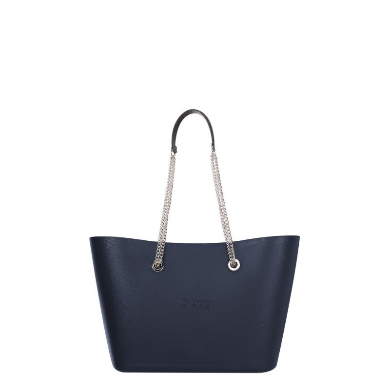 Nuova Borsa O Bag Urban primavera estate 2018 colore blu navy - Lei Trendy b1845911196