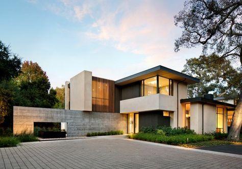 Holz Le Design beton wand und helles holz für einrichtung und fassade eines hauses