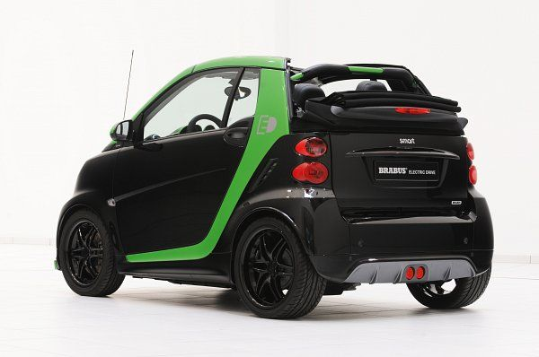 Brabus Electric Drive Smart Fortwo Car Ps Automobile
