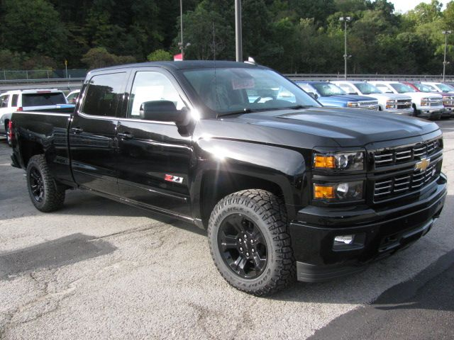 2015 Chevy Silverado Crew Cab Z71 Ltz Midnight Edition Tom