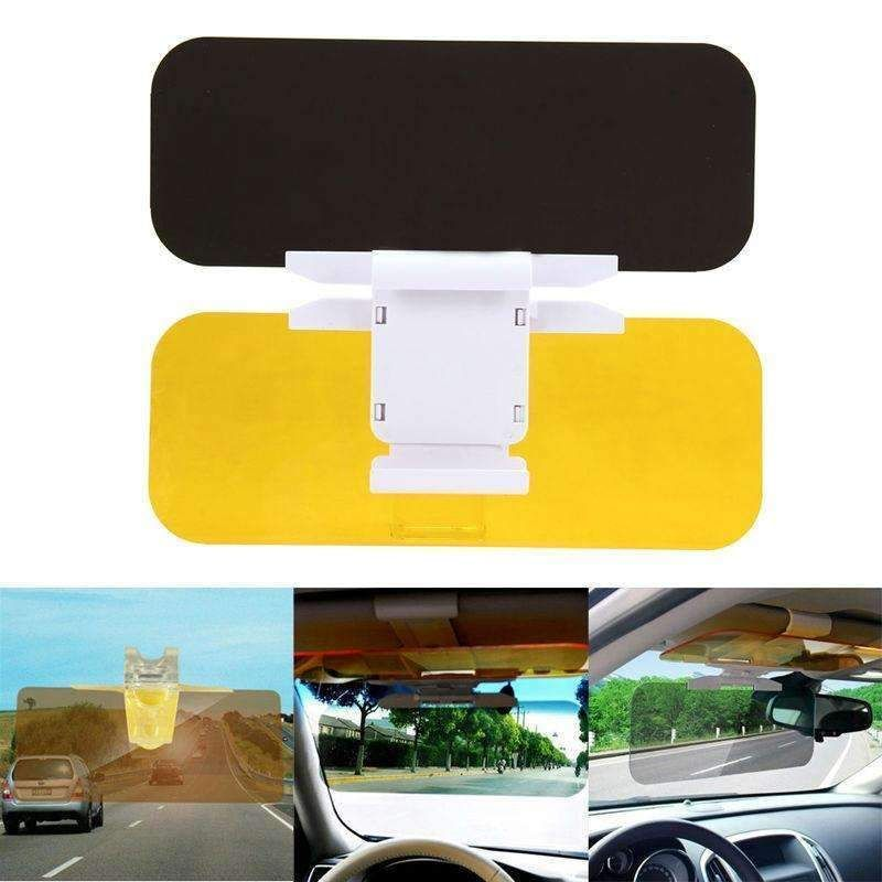 Car Sun Visor HD Car Anti-Glare Dazzling Goggle Day Night Vision Driving  Mirror UV Fold Flip Down HD Clear View Visor New 260ae807c09