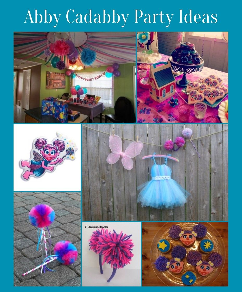 Abby Cadabby Party Decorations Abby Cadabby Party Supplies Pairs Well With Elmo And Sesame