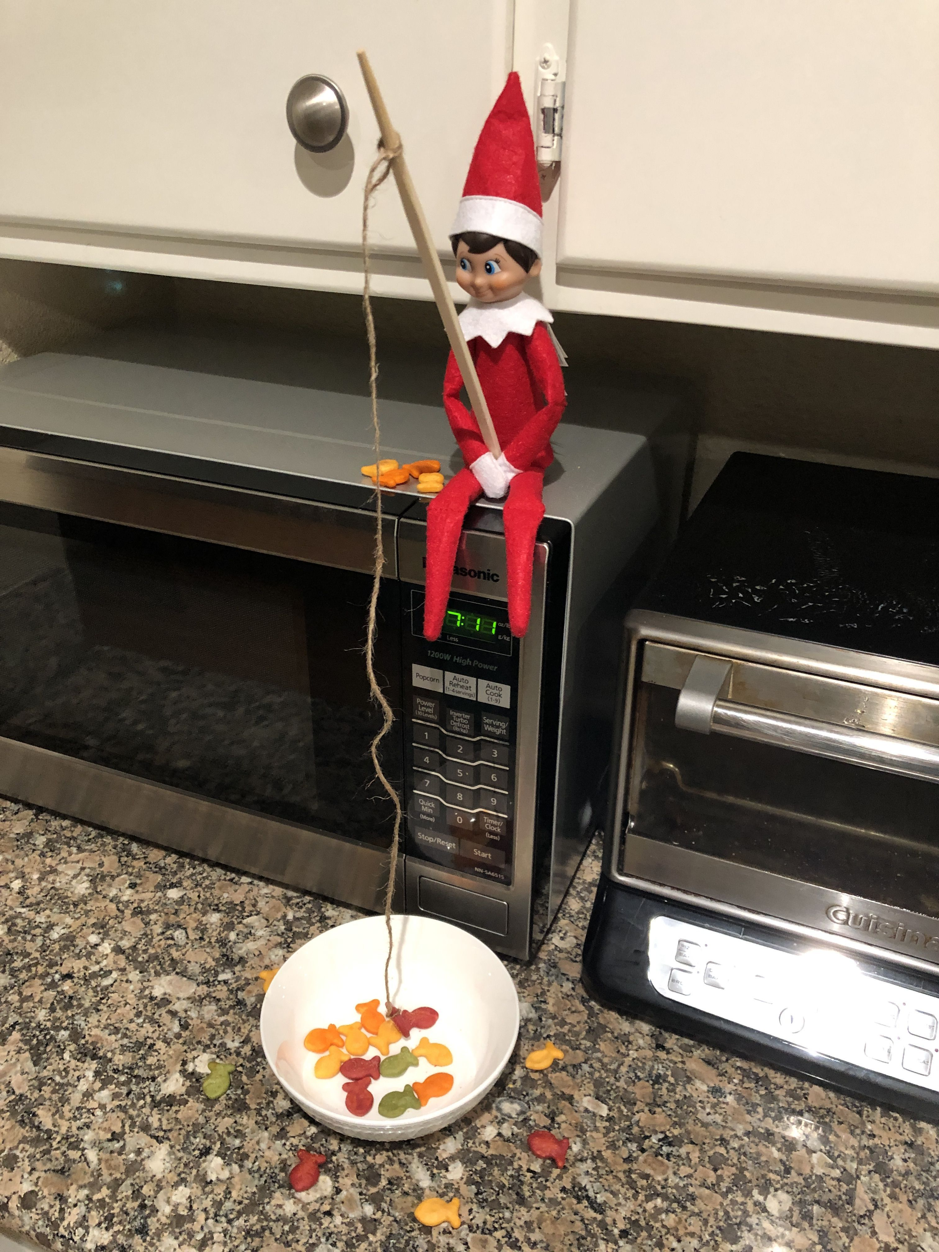 Elf On The Self #elfontheshelfideasfortoddlers