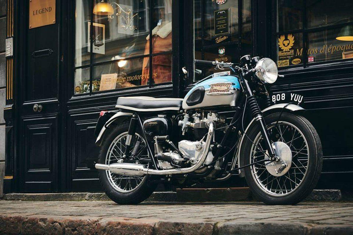 Triumph T120 Bonneville 650cc 1961 à Vendre Chez Legend Motors
