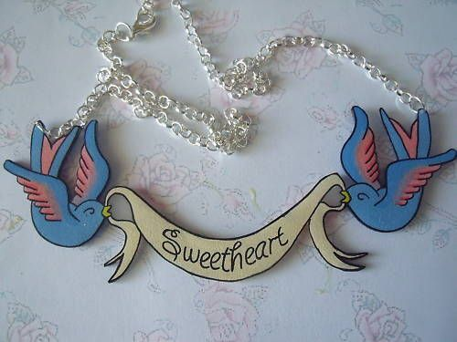 Personalised Swallow banner RoCkaBillY tAttOO nauTiCaL vintage 50s | eBay