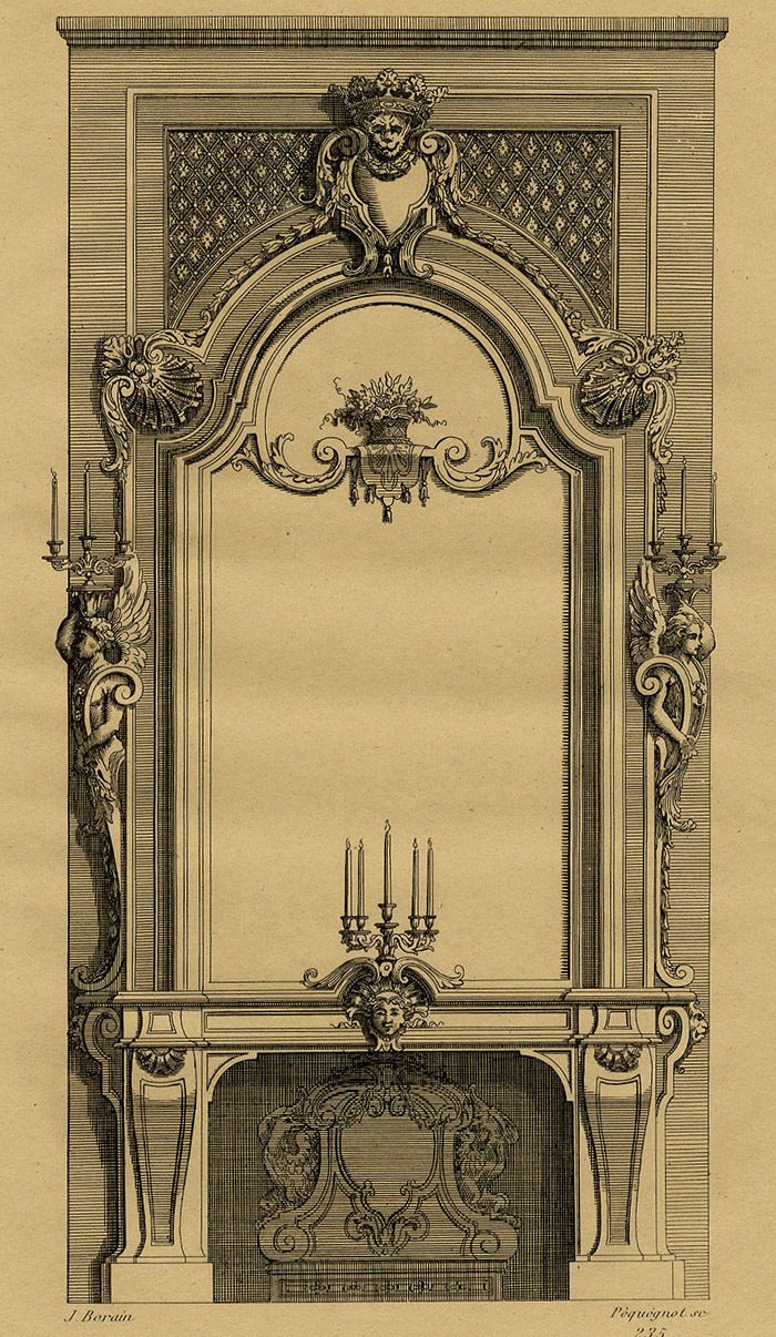 http://www.ebay.ca/itm/Jean-Berain-Decoration-Cheminee-Louis-XIV-Gravure-XIXeme-Pequegnot-/371081930963?pt=FR_JG_Art_Estampes