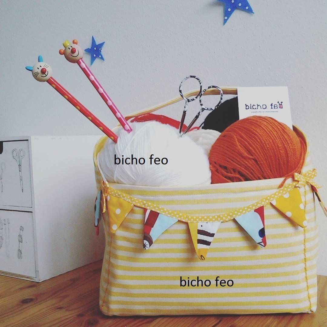 Cestino per knitaddicted https://www.facebook.com/bichofeo.creativita.in.movimento/