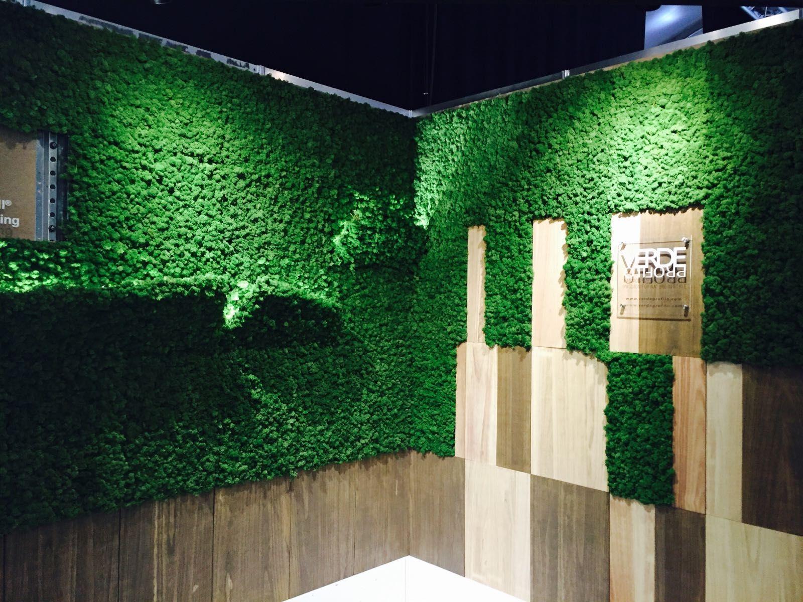 Deko In Natur Optik Rinde Moos Vertikal Garten Design: Deko Wohnzimmer