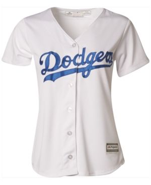 Majestic Women s Los Angeles Dodgers Cool Base Jersey - White S bb98f08d8