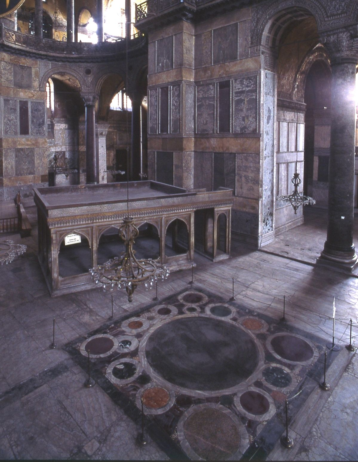 Sanctuary Omphalion At Hagia Sophia Istanbul Turkey  # Muebles Bazar Santa Sofia