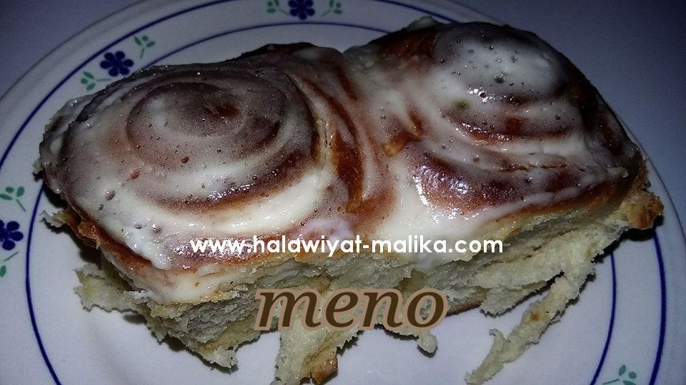 السينابون Homemade Recipes Arabic Food Bread Recipes Homemade