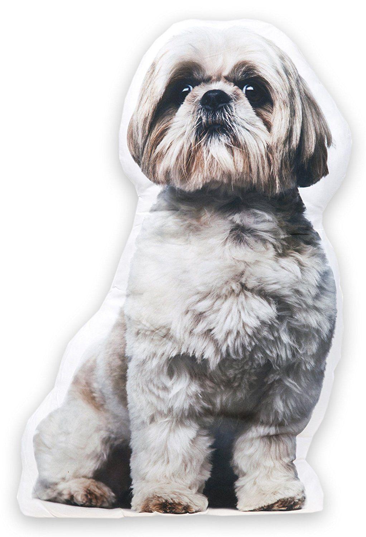 Lashuma Dekokissen Hund Shih Tzu, Zierkissen mit