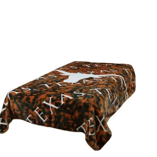 University of Texas Longhorns Twin Comforter Throw Blanket