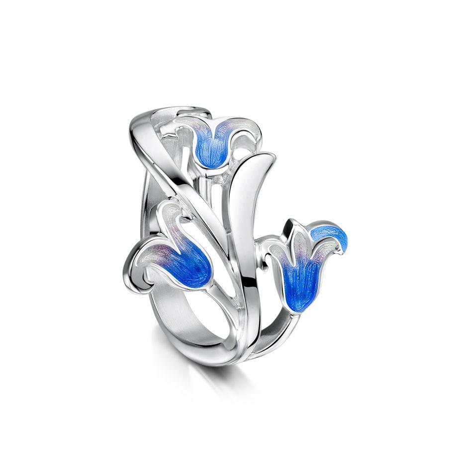 Bluebell Ring by Sheila Fleet