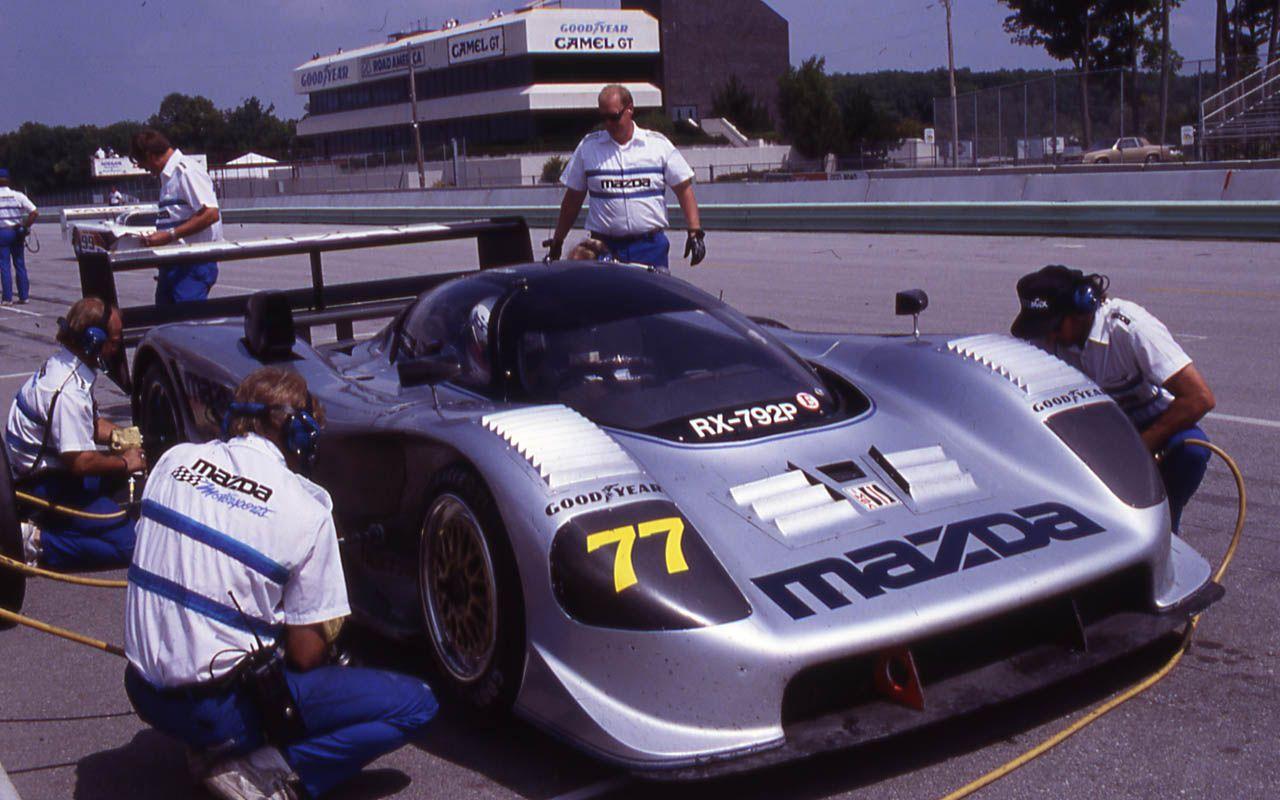 Nostalgic Wednesday Mazda RX792P Mayday Garage Mazda
