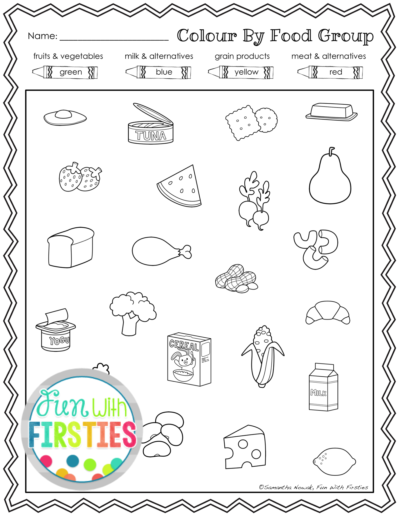 Worksheets Healthy Eating Worksheets healthy eating a nutrition food groups pack with activities worksheets and for health unit