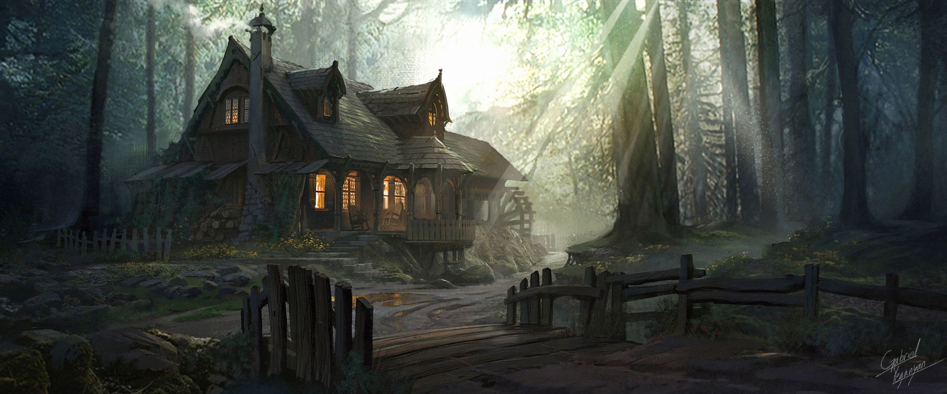 ArtStation - ANNIE: Origins | League of Legends Cabin, Gabriel Yeganyan