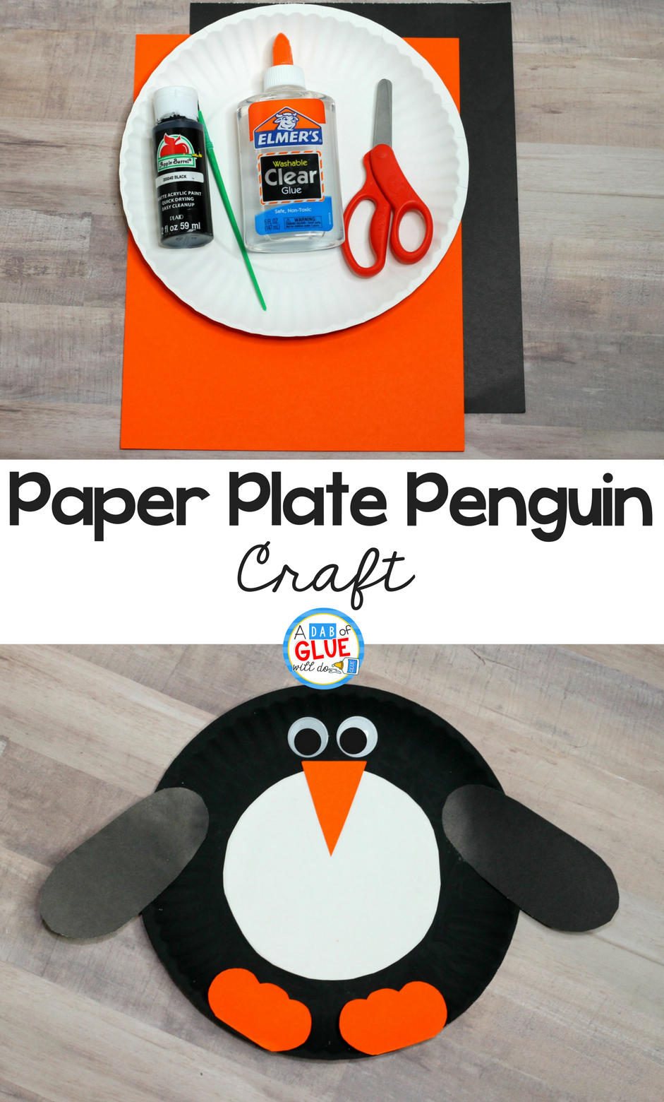 how to make a paper penguin