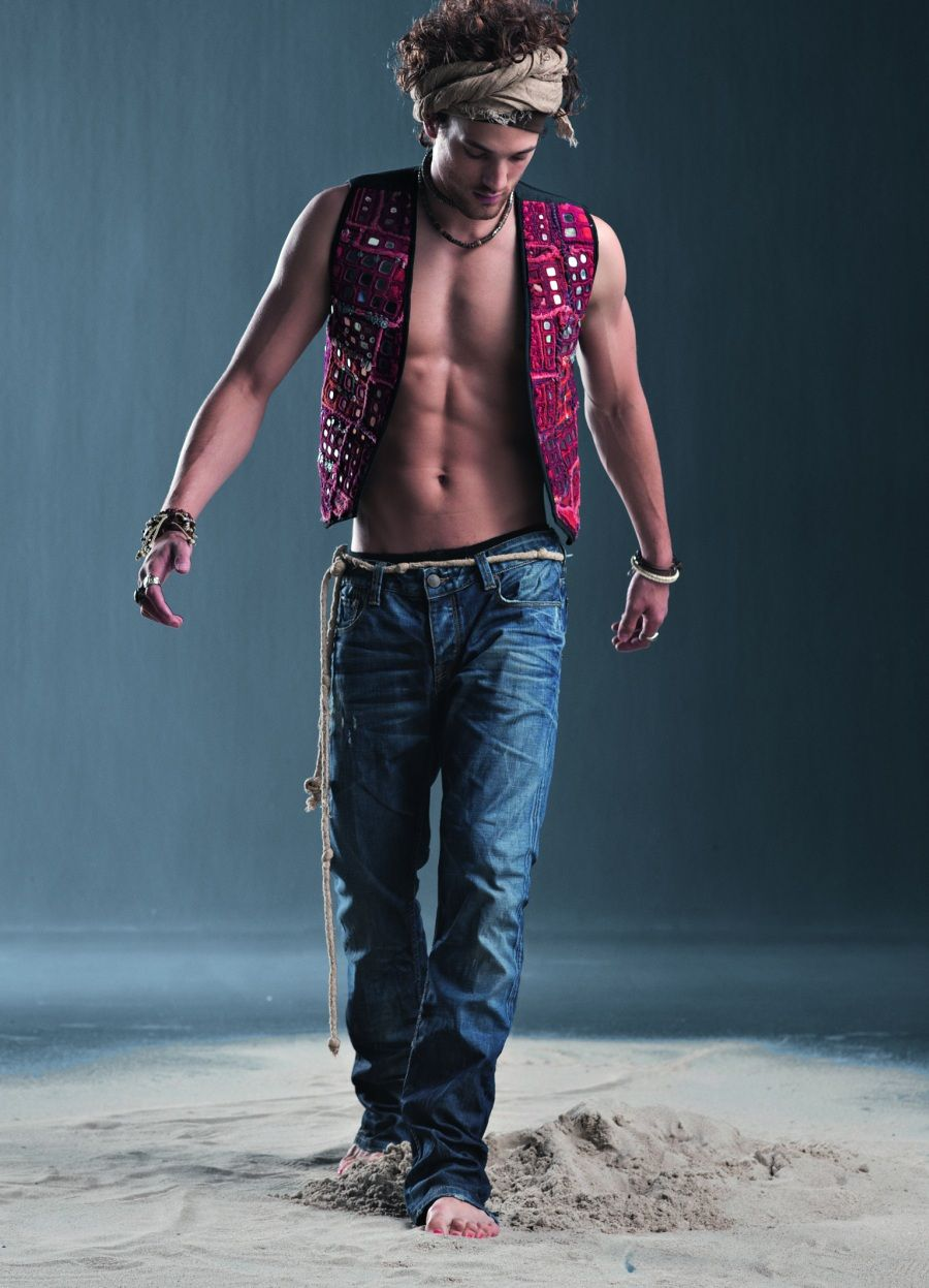 adenim ss 2012 look book  stylish mens outfits bohemian