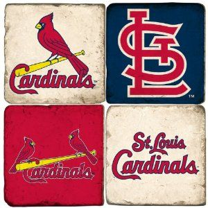 St. Louis Cardinals Logo Drink Coasters