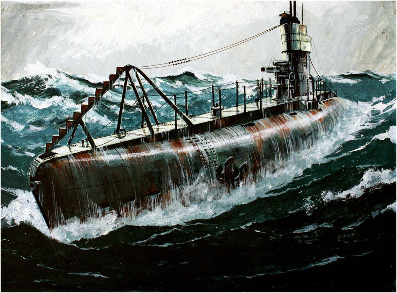 U Boats U 86 German Submarine Which Entered Service