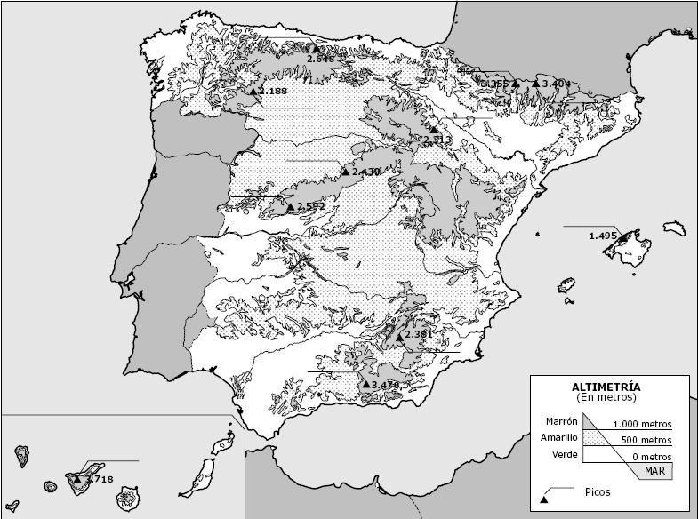 Información E Imágenes Con Mapas De España Político Y Físico En 2020 Mapa De España Mapas Imagenes Para Estados