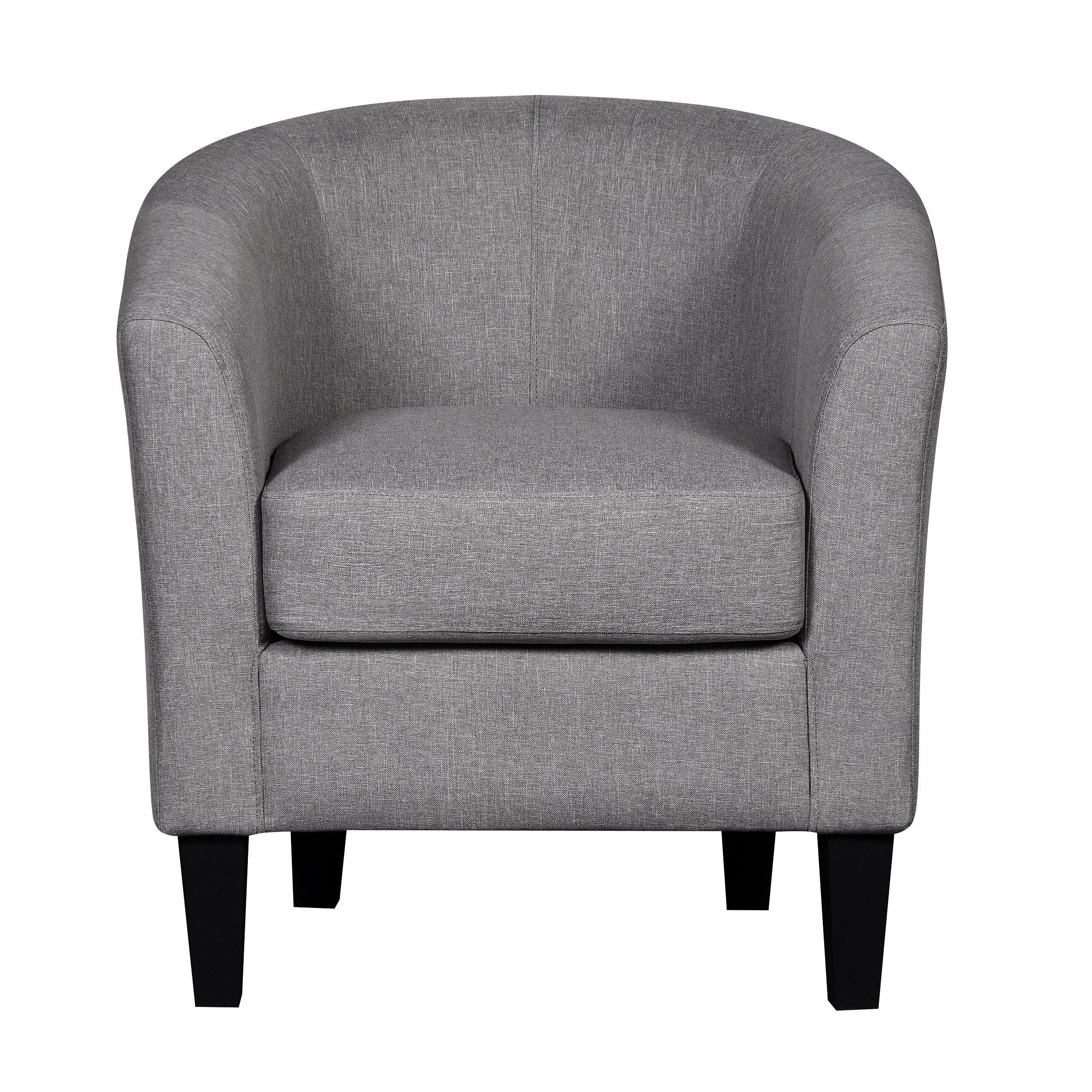 Contemporary fabric chairs - Us Pride Furniture Madge Contemporary Fabric Accent Club Chair Brown