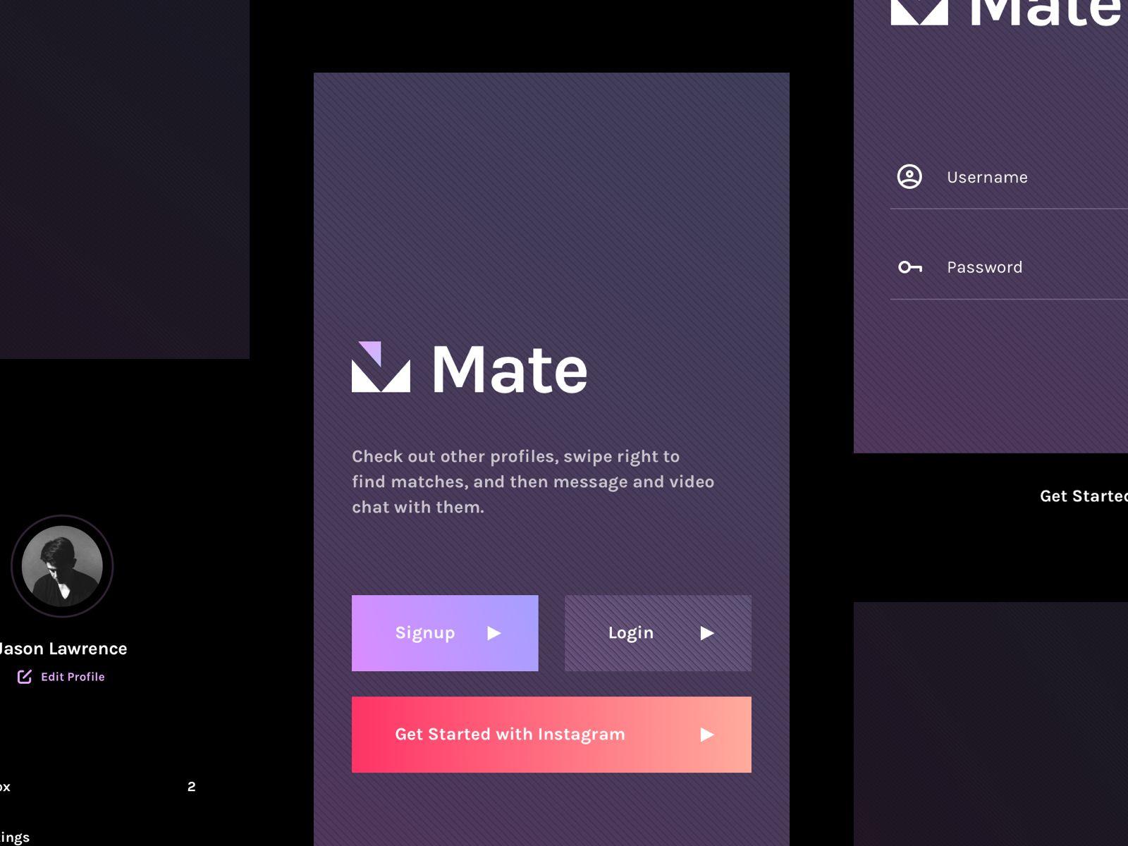 Mate Dating Application Dating application, Flirting