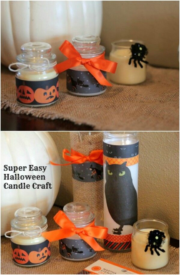 30 Frugally Decorative Dollar Store Halloween Crafts and Decorations - halloween crafts decorations