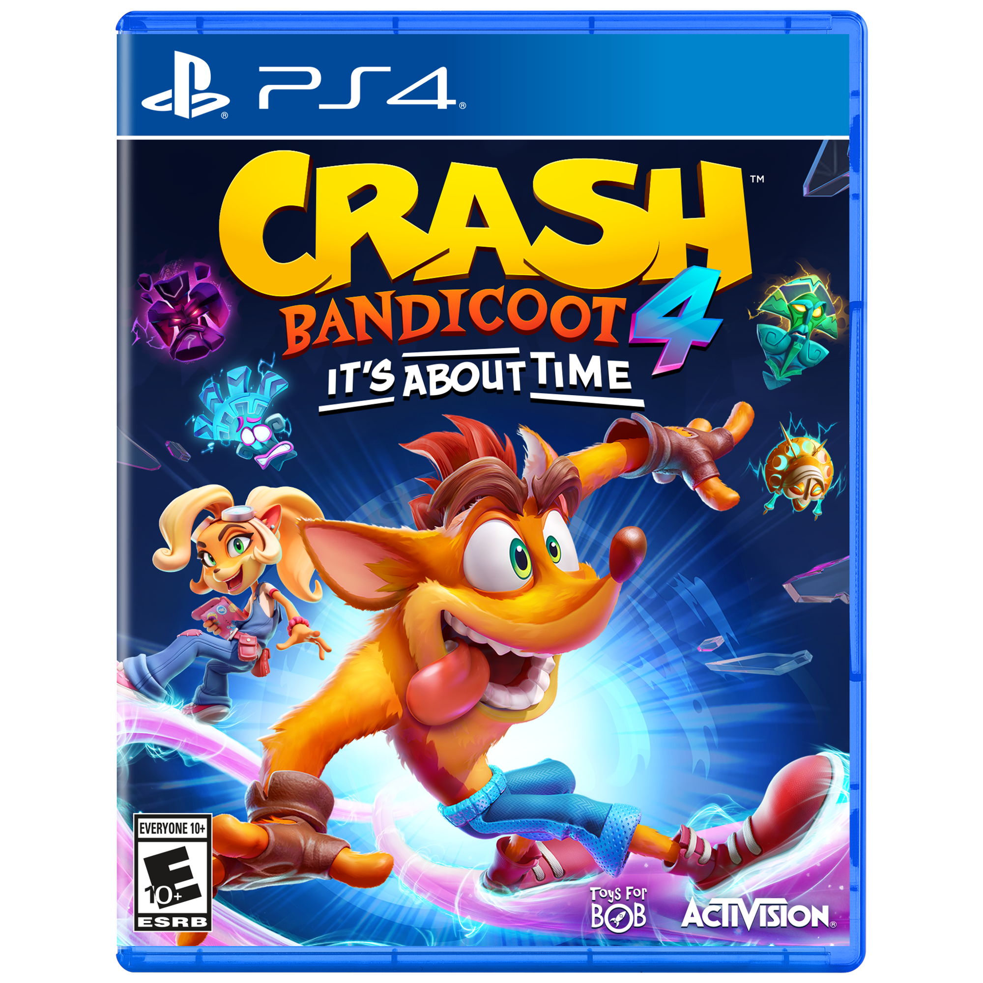 Crash Bandicoot 4 It S About Time Activision Playstation 4 Walmart Com Crash Bandicoot Bandicoot Xbox One Games