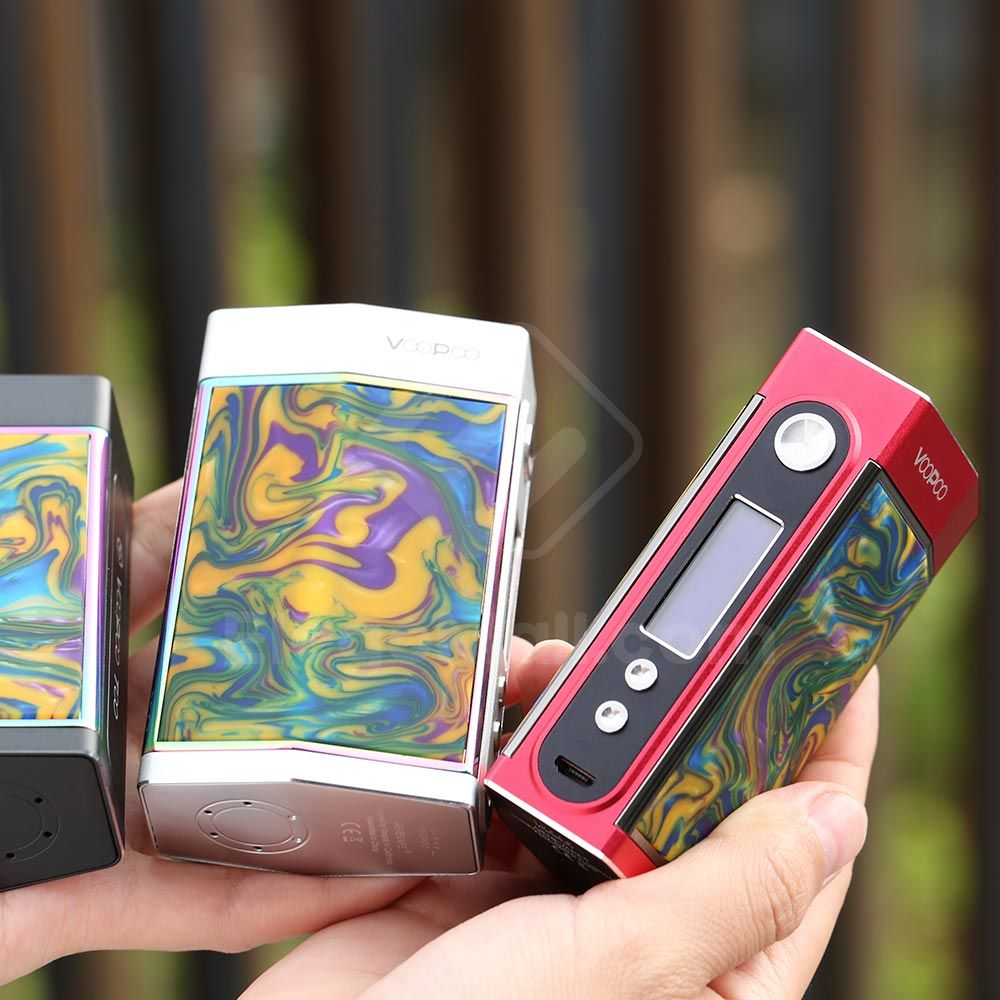 VOOPOO TOO Resin 180W Box Mod review   License to Vape