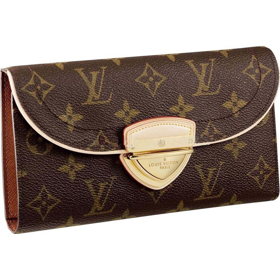 722cabddc0 Louis Vuitton M60123 Wallet Eugenie Wallet Brown | My Dream Closet ...
